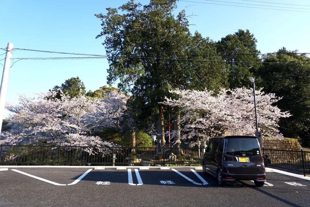 武雄神社 駐車場