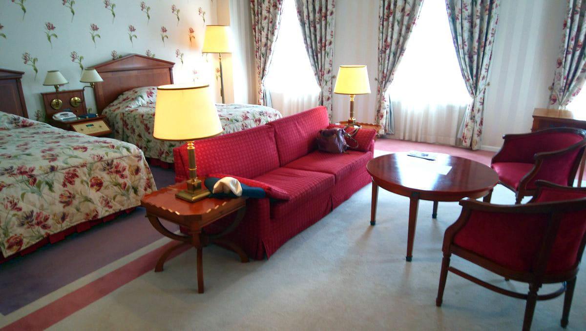 ホテルアムステルダムのローラアシュレイルーム