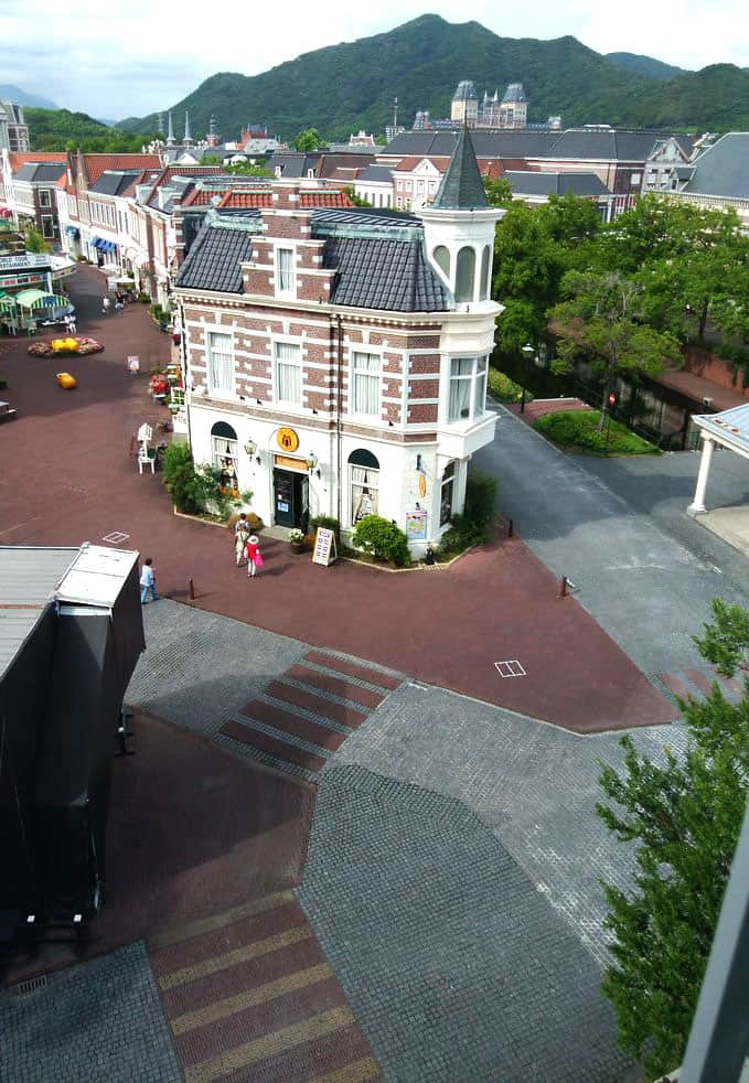 ローラアシュレイルームから見える風景の写真