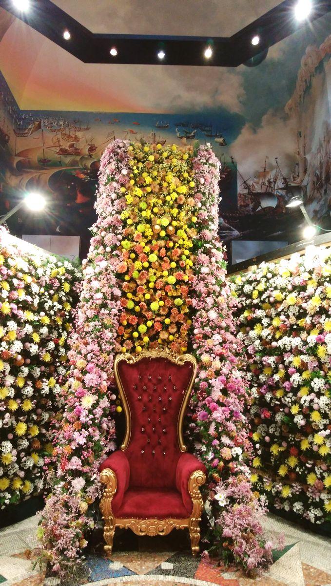 2万本のダリアの宮殿 ハウステンボス