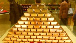 ハウステンボスの黄金の館