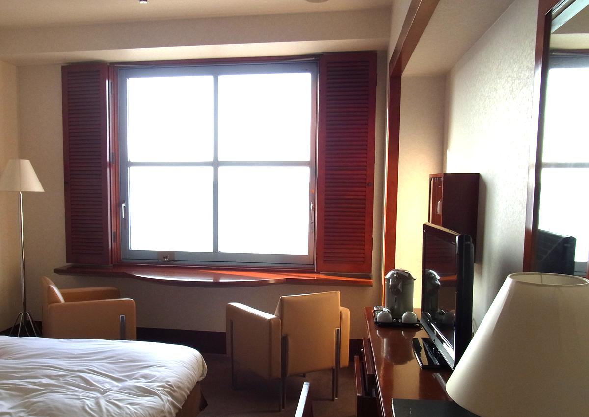 プレミアホテル門司港(旧門司港ホテル)のフロント 部屋の内装