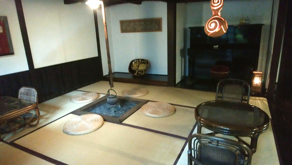 柳屋 大分・別府・鉄輪温泉 湯治 食事部屋