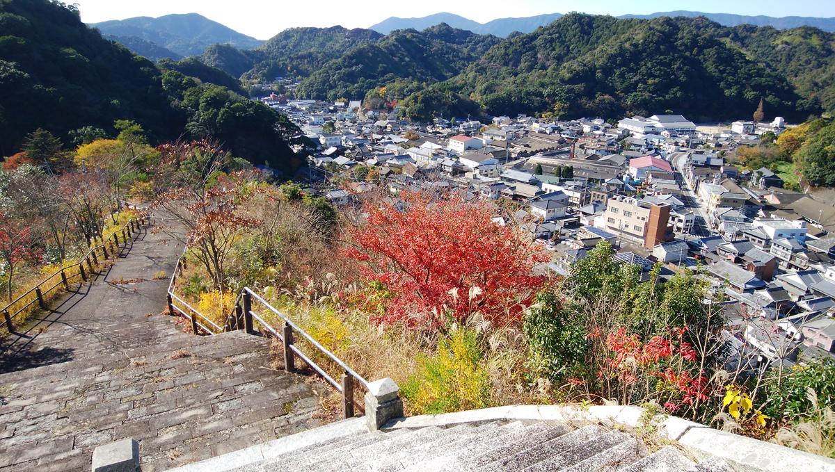 陶山神社  有田の景色の良いお勧めのスポット