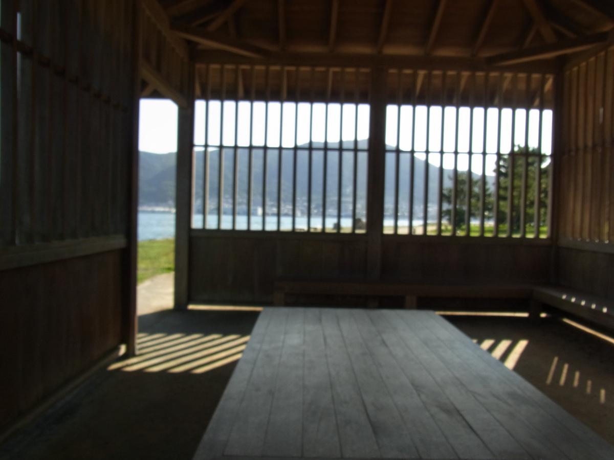 巌流島の休憩所