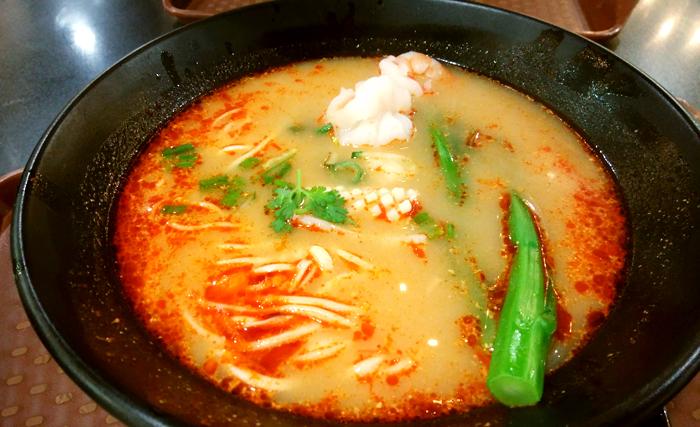 Noodle Star(丰面人物)のSEAFOOD NOODLE